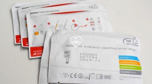 152000 Test casete embarazo HCG10
