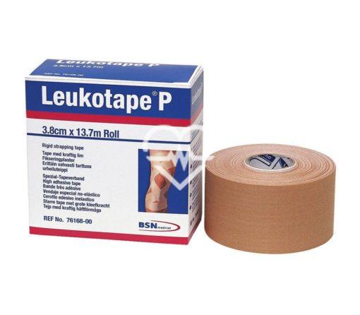 76168 Leukotape P Patella Tape 3.8cmx13.7m Tan