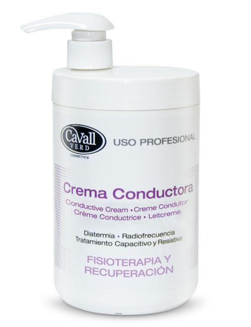 Crema Conductora Fisioterapia y Recuperación Cavall Verd 1000 ml