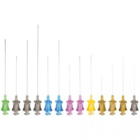 flexible micro cannula rosa 18g110mm 20 kits