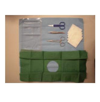set suturas de un solo uso