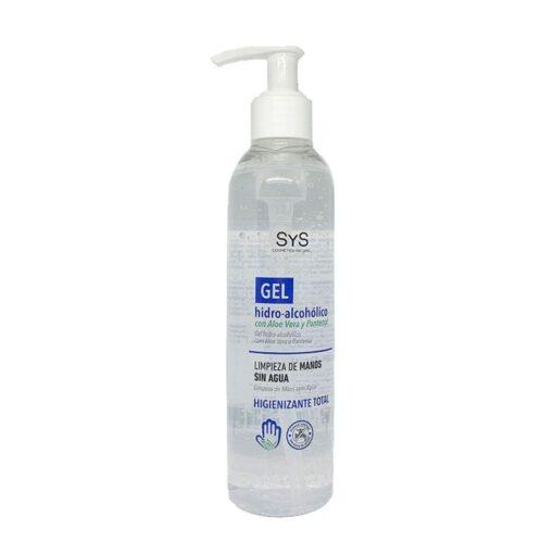 sys gel hidroalcoholico con aloe vera 250 ml