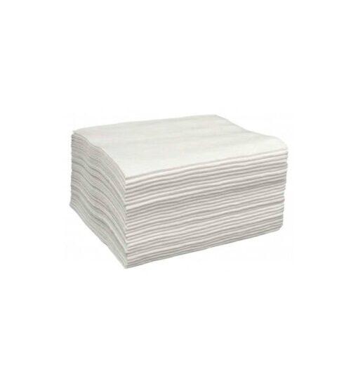 toalla spunlace peluqueria blanco 40x80 b100